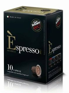 30 Biodegradable Èspresso Capsules by Caffe Vergnano, Nespresso Compatible (Arabica) - http://hotcoffeepods.com/30-biodegradable-espresso-capsules-by-caffe-vergnano-nespresso-compatible-arabica/