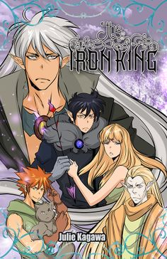 The Iron King Graphic novel cover B