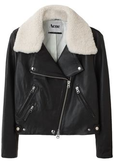 The Acne leather jacket that I will only be wearing in my dreams. Those are good dreams. :(
