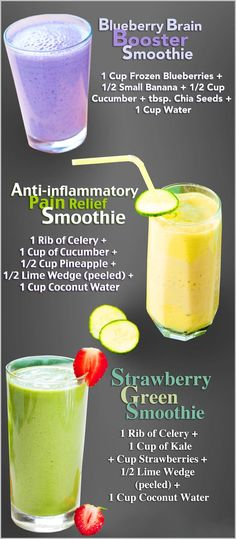 Healthy Smoothies.... delicious!