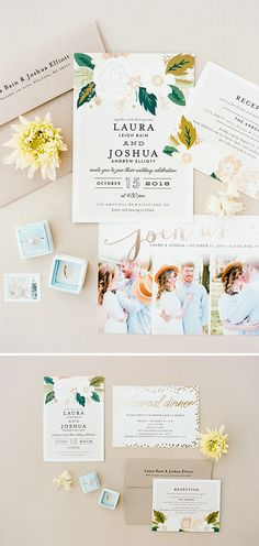 Minted Real Wedding: Laura and Joshua in Cleveland, NC