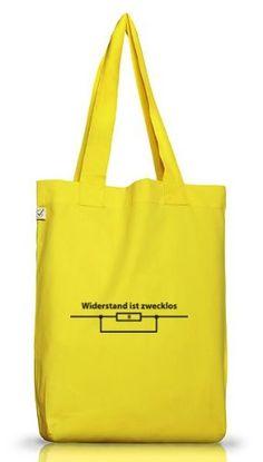 Shirtstreet24, WIDERSTAND IST ZWECKLOS, Jutebeutel Stoff Tasche Earth Positive - http://herrentaschenkaufen.de/shirtstreet24/shirtstreet24-widerstand-ist-zwecklos-stoff