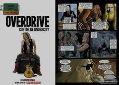 Overdrive: Contos de Undercity - Uma hq pra quem é fã de rock!