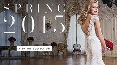 Justin Alexander – Colecção de Vestidos de Noiva Primavera/ Verão 2015