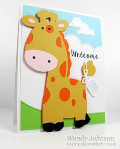 Wendy Johnson | New Baby Card