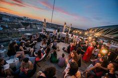 360 Bar - Rooftop Bar  1061 Budapest, Andrássy út 39. https://www.facebook.com/360barbudapest?fref=ts