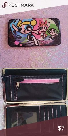 Power puff girl wallet Like new condition. Accessories