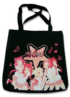 K-ON! Girls Tote Bag -- Check out the image by visiting the link. (This is an Amazon Affiliate link and I receive a commission for the sales)