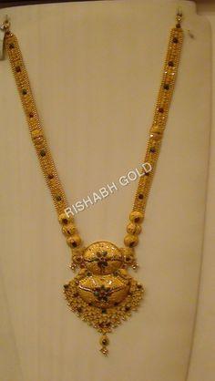 Gold Long Haar Manufacturer, Gold Long Haar Supplier, Exporter, Service In Bengaluru, India Real Gold Jewelry, Gold Jewelry Simple, Gold Wedding Jewelry, Bridal Jewelry, Gold Chain Design, Gold Jewellery Design, Jewellery Diy, Latest Jewellery, Antique Jewellery