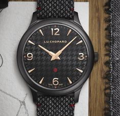 *Blog Update - Read iN!* #Chopard 40mm L.U.C XP II Sarton #Kiton⌚️ DLC-Coated Steel with Cashmere Leather Lining Strap!🎉