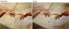 The Creation of Adam , Michelangelo The Creation Of Adam, Simple Words, Michelangelo, The Past, Oil, Painting, Painting Art, Paintings, Painted Canvas