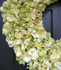 FALL WREATH SALE Xl Hydrangea Wreath Custom by ElegantWreath