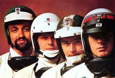 Henri Pescarolo, Johnny Servoz Gavin, Jean-Pierre Beltoise and Jackie Stewart