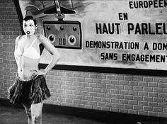 pickurselfup:    Josephine Baker inThe Fireman of the Follies-Bergere, 1928