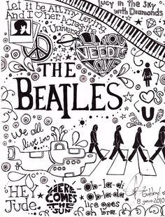 The Beatles Collage