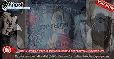 Tips to Choose a Private Detective Agency for Personal Investigation - First Indian Detective Agency Personal Investigation, Detective Agency, Private Investigator, Investigations, Tips, Fictional Characters, Study, Fantasy Characters, Counseling