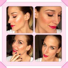 Glowing Pink Makeup