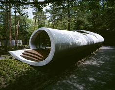 The evolution of form ties into the evolution of structures. From the smallest and simplest designs to the most sophisticated, the architect has always aspired to combine durability, utility and beauty. The Shell Residence by ARTechnic is located just outside of Tokyo in Karuizawa, Japan. The house is surrounded by conifer forests and the structure …