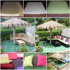 Outdoor Pallet Sofa Lounges & Garden Sets Sofas