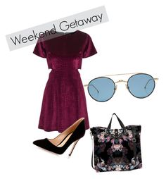 """Royal Boysenberry"" by cmgfash ❤ liked on Polyvore featuring Thom Browne, Topshop, Lily and Lionel and Gianvito Rossi"