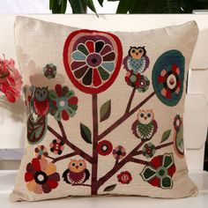 New owl pillow cushions cover car covers home decoration gift decorative pillows case throw pillow cover