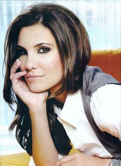 Daniela Ruah.. I'm a little bit obsessed. I LOVE HER!