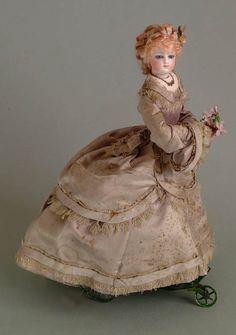 fashion doll on wheels...