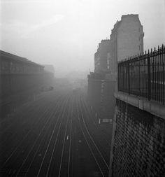 Gare Saint Lazare. 1950. Lucien Hervé