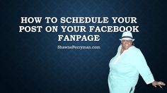 How to schedule your post on your Facebook Fanpage