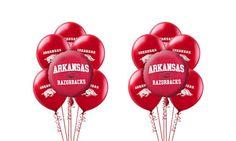 Arkansas Razorbacks Balloon Kit