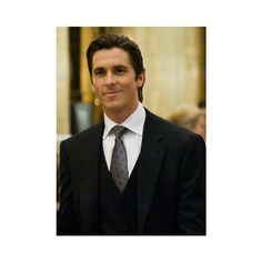 Bruce Wayne.jpg ❤ liked on Polyvore featuring men and pictures