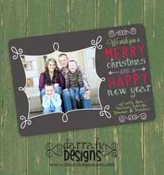 Custom+Photo+Christmas+Card+by+DarrahDesigns+on+Etsy,+$14.50