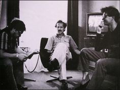 Rainer Werner Fassbinder, Werner Herzog, and Wim Wenders - Room 666 Movie Shots, I Movie, Famous Directors, Werner Herzog, I Robert, Jean Luc Godard, Michelangelo Antonioni, Film Inspiration, Documentary Film