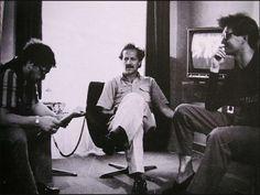 Rainer Werner Fassbinder, Werner Herzog and Wim Wenders