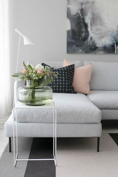 Living room ideas: Stunning living room sofas for your living room design Interior Rugs, Interior Design Living Room, Living Room Designs, Design Bedroom, Living Room Sofa, Home Living Room, Apartment Living, French Apartment, Apartment Ideas