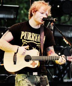 His shirt oh my gosh ;)