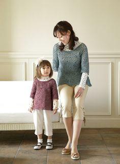 【楽天市場】作品♪213SS-37ペアのモチーフのセーター:【毛糸 ピエロ】 メーカー直販店