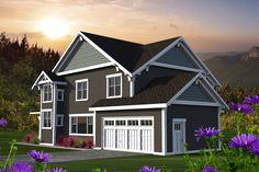 Craftsman Style House Plan - 3 Beds 3 Baths 2363 Sq/Ft Plan #70-1219
