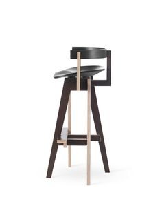 Xemei stool black. High contrast!