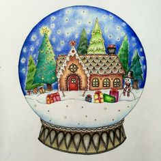 Image result for johanna basford christmas