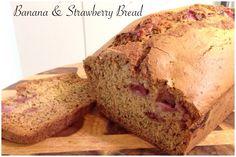 Banana & Strawberry Bread Bellini Recipe, Strawberry Bread, Banana Bread, Cooking Recipes, Desserts, Food, Thermomix, Tailgate Desserts, Deserts
