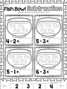5 Nursery Rhyme with Math Printables Subtraction Kindergarten, Kindergarten Math Activities, Preschool Math, Math Classroom, Fun Math, Math For Kids, Teaching Math, Kindergarten Addition, 2 Kind