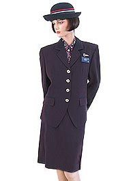 British Airways uniform 1992-2005, and this one I loved wearing thank you Mr Costello !