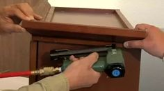 How To Install Cabinet Crown Molding - YouTube