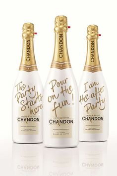 "Chandon Sparkling Wine $24  http://www.refinery29.com/edible-gifts#slide5  ""The Party Starts Here."" Enough said."