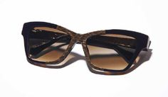 Kate Young for Tura  Women's Sunglass  K507 brown