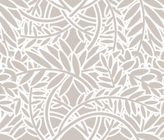 FERN - Pebble fabric by lovedove on Spoonflower - custom fabric