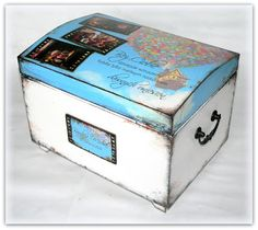 "wedding box, hand made wedding box, ""up"" wedding box, wedding card box, memory box"