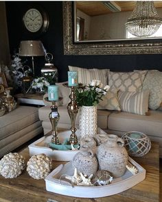 amazing decor ideas for your small living room 9 Glam Living Room, Interior Design Living Room, Living Room Designs, Living Room Decor, Bedroom Decor, Bedroom Ideas, Amazing Decor, Home Decor Accessories, Home Decor Inspiration
