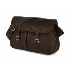 Ariel Trout - Leather Shoulder Bag made by Brady Bags in West Midlands Leather Camera Bag, Leather Shoulder Bag, Fishing Equipment, Sports Equipment, Brady Bag, Cool Gear, Made In Uk, Trout, Bag Making